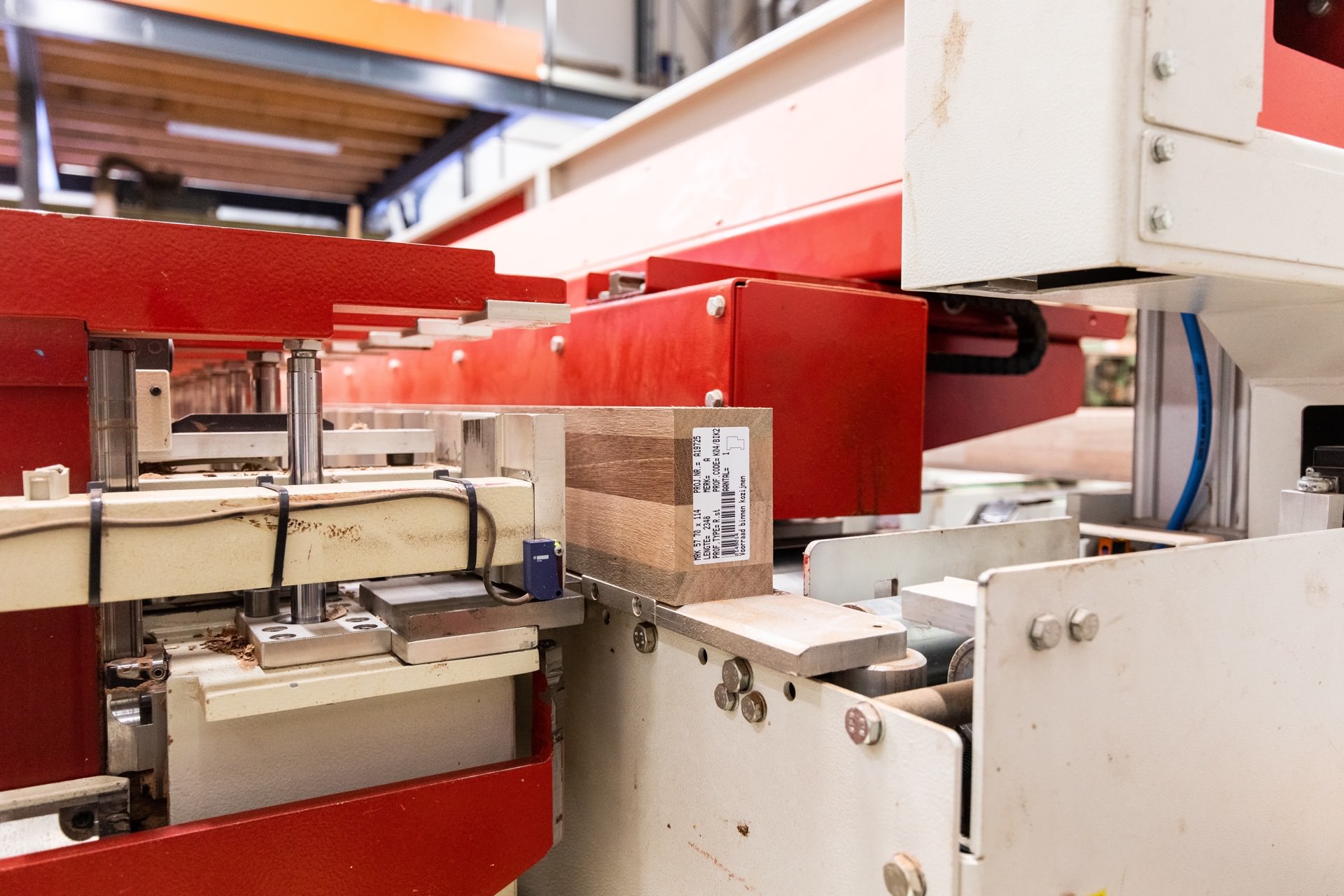 Van Schaik Kozijnen machines